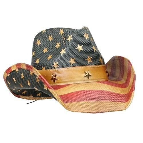Western American Flag Vintage Cowboy Hat Cowboy Hats Vintage Men Cowboy