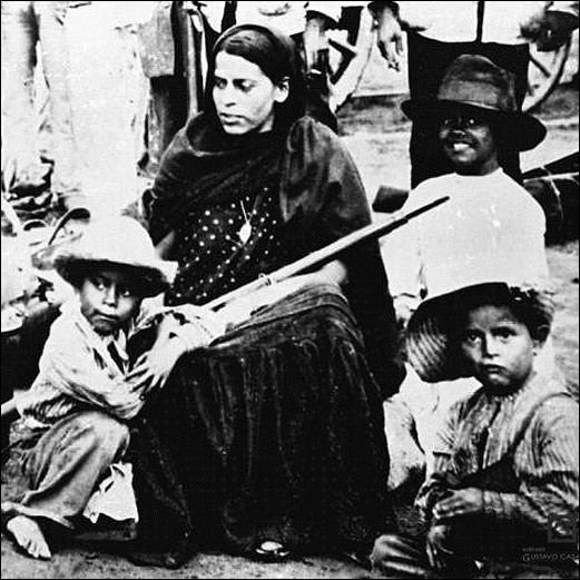 "SOLDADERAS {} In the Mexican Revolution, there were different types of ""soldaderas"": which were directly involved in combat, wives of soldiers with their children for chores and young as slaves of the revolutionaries."