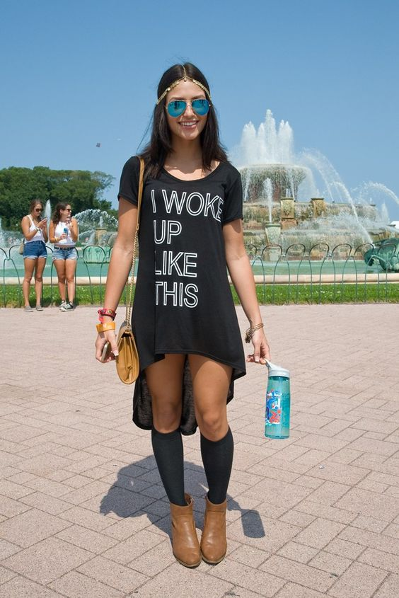 They Are Wearing Lollapalooza | Lollapalooza Photos And Outfit