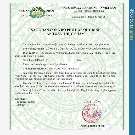 Khang Nữ Hoàn Nguyên Đan bán ở đâu UY TÍN và CHÍNH HÃNG?