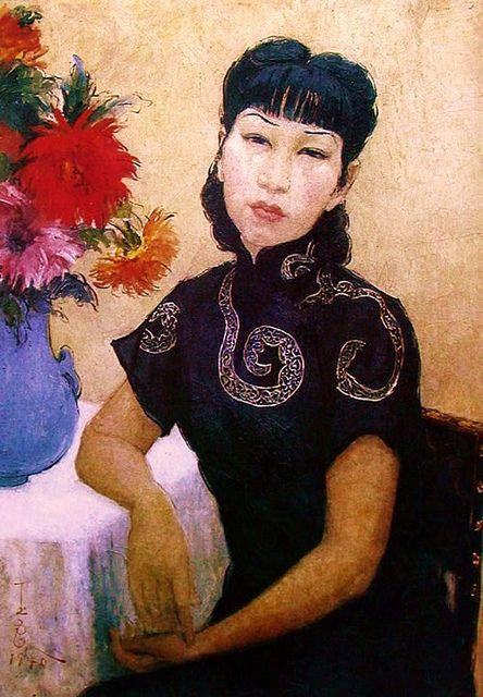 Chinese Modern Artist Pan Yuliang (1899–1977), Self Portrait | Flickr - Photo Sharing!
