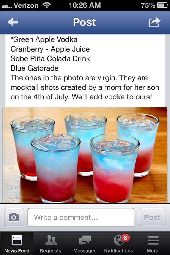 4th of july tequila drinks