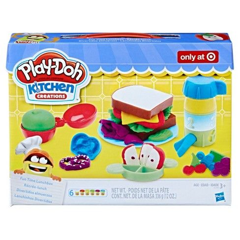 Play Doh Kitchen Creations Fun Time Lunchbox Target Play Doh Kitchen Play Doh Toys For Girls