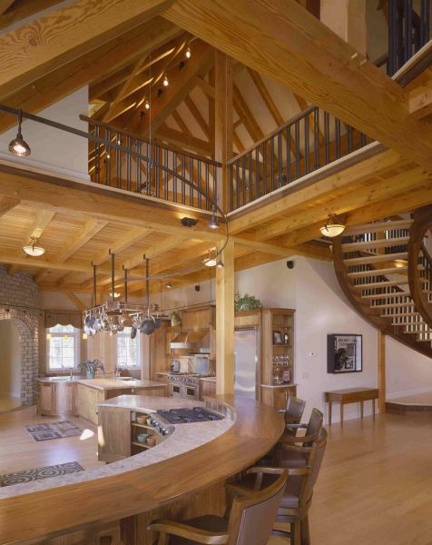 Lakeside Luxury Timber Frame Houses And Barns By John