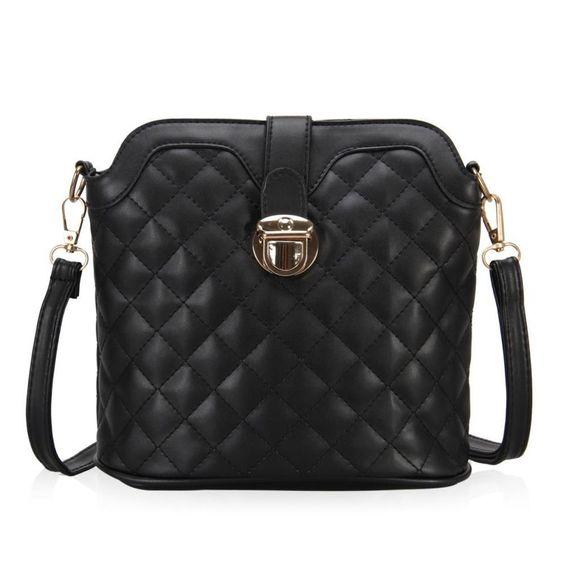 New Women Designer Celebrity Handbag Cross Pattern Shoulder Bag Cross Body Purse