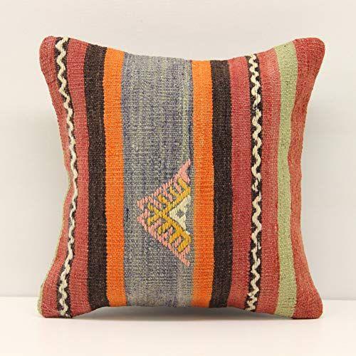 Interior Design Kilim Pillow Cover 12x12 Inch 30x30 Cm Https Www Amazon Com Dp B07zqt8b6l Ref Cm Sw R Pi Dp X Kilim Pillows Pillows Sofa Pillow Covers