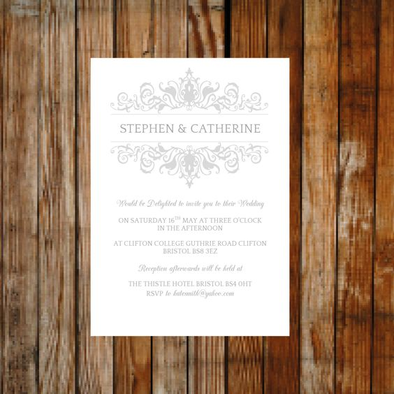 A personal favourite from my Etsy shop    wwwetsy uk - invitation templates microsoft
