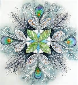 Zentangle Peacock - Bing Images