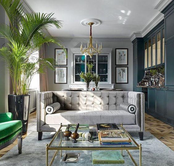 Las salas de estar de lujo pueden existir en tú habitación pero puedes cambiar mucha cosa, aqui te brindo estas ideas de diseño de interiores para decorar su sala de estar