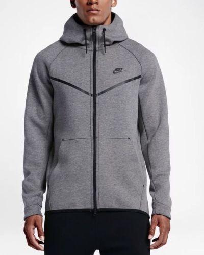 Mens Nike Sportswear Tech Fleece Windrunner 805144 091 Grey