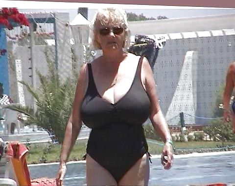 Old grannys big tits