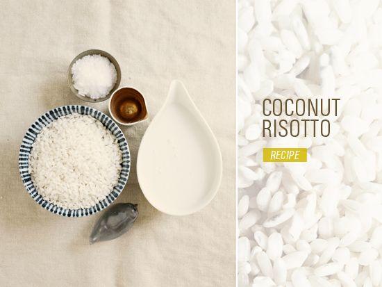 coconut risotto