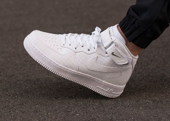 nike air force 1 mid 07 lv8 quilted white (3)