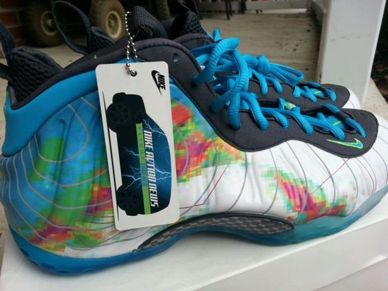 Nehmen Billig Deal Nike Foamposite Eins luminous Galaxy Custom Schuhe Billig