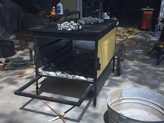 China Box Cooker ~ La caja china cooker gear pit roasting box