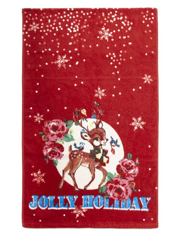Red Jolly Holiday Hand Towel | Guest towel | Pinterest | Christmas ...
