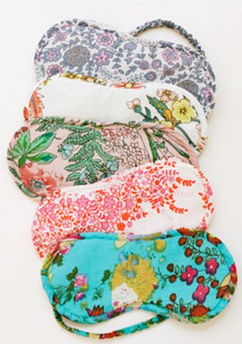 pretty floral eye masks - only $12! http://rstyle.me/n/u6issr9te