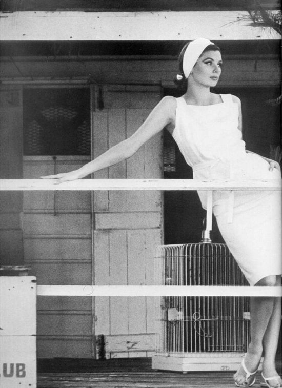 Suzy Parker for Dorville, 1963. By Henry Clarke