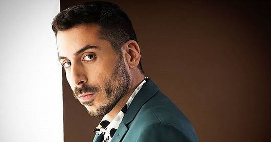 Kobi Marimi Israel Esc 2019 Singer Round Sunglass Men Freddie Mercury