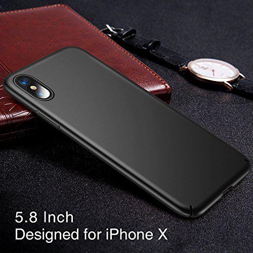 iPhone X Case, TORRAS Slim Fit Shell Hard Plastic PC Ultra Thin ...