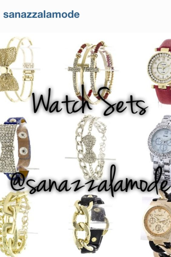 Watches Sets with Bracelets