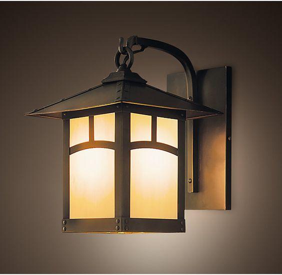 Restoration Hardware Outdoor Lighting Reviews: Pinterest • The World's Catalog Of Ideas