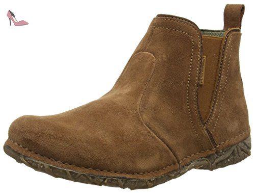 El Naturalista NE09 LUX SUEDE GRAFITO / EL VIAJERO Grigio - Chaussures Low boots Femme