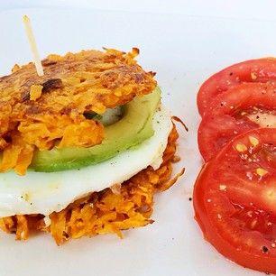 Sweet Potato Hash Egg Sandwich   Official Whole30® Recipes @whole30recipes Instagram photos   Websta