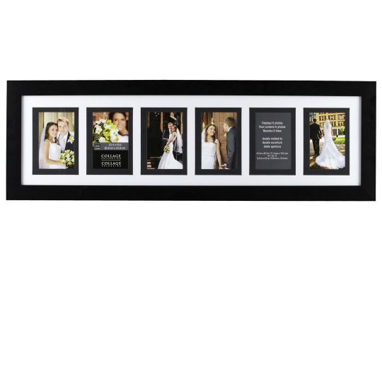 Studio Décor® Collage Collection 6-Opening Frame with MatStudio Décor Collage Collection 6-Opening Frame with Doube Mat