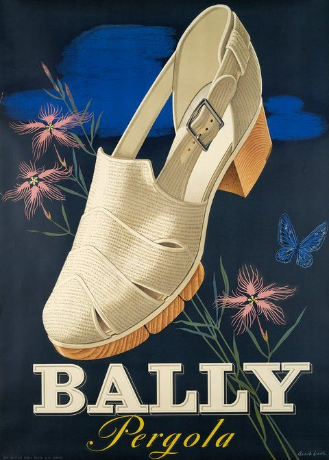 Vintage Posters Object Style Sachplakat Galerie 1 2 3 Shoe Poster Vintage Shoes Outfit Shoes