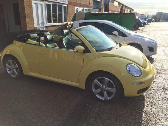 2010 Volkswagen Beetle Tdi Yellow Convertible Cabriolet
