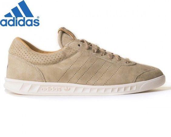Adidas Hamburg Soldes Adidas Hamburg Homme Hemp/Chalk Blanc Suede Chaussures De…