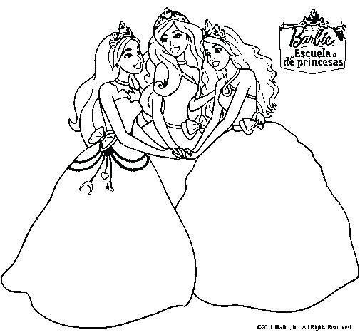 Princesa Paginas Para Colorear Gratis Para Gratis En Barbie Y Para Dibujos De Princesas Disne Barbie Para Colorear Paginas Para Colorear Gratis Barbie Princesa
