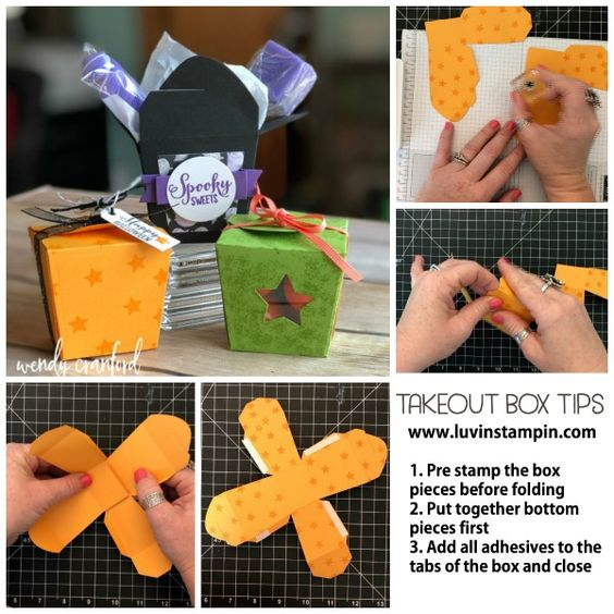 Take Out Treats for Halloween - Luvin Stampin