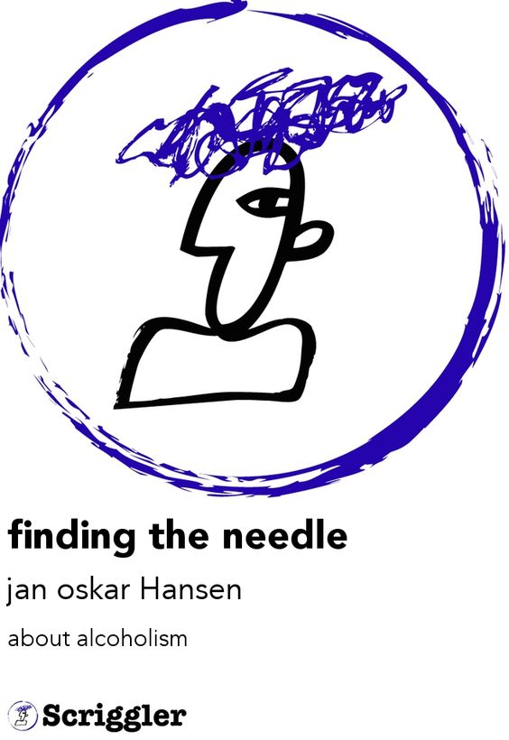 finding the needle by jan oskar Hansen https://scriggler.com/detailPost/poetry/39682