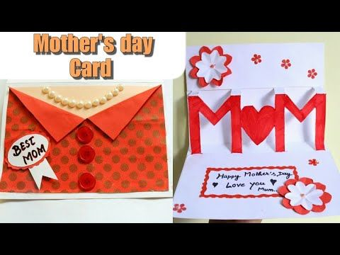 Diy Mother S Day Card Ideas Mother S Day Pop Up Card Beautiful