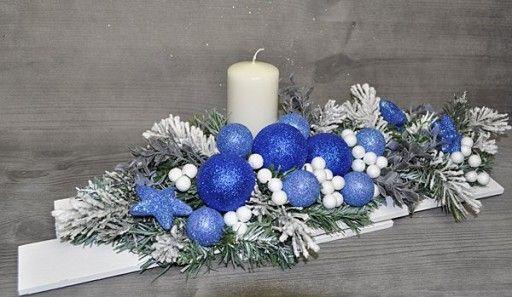 Kup Teraz Na Allegro Pl Za 105 00 Zl Wianek Swiateczny Swieta Boze Narodzenie Str Handmade Christmas Decorations Christmas Centerpieces Christmas Decorations