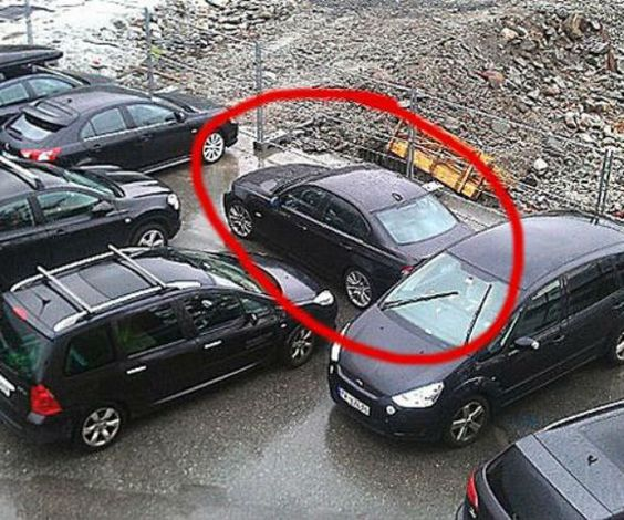 » 35 Funny Reactions To Bad Parking