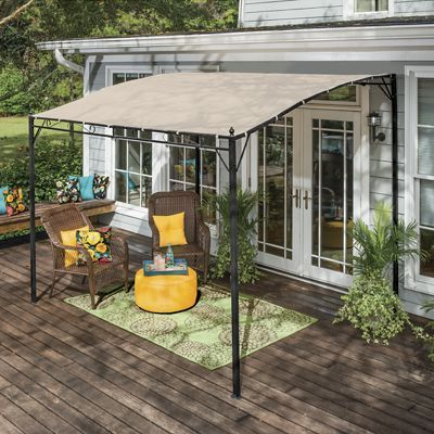 Possibly Attach To The Fence For Over The Grill........ | Outdoors |  Pinterest | Gazebo, Montgomery Ward And Fences