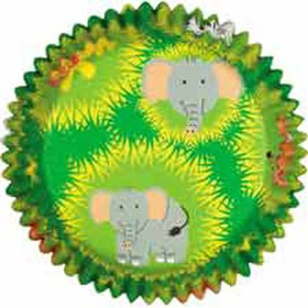 Jungle Pals 50 Baking and Party Cups - Wilton