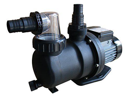 123chantier Gre Pp076 Pompe De Filtration 0 75cv Pour Piscine Noir 40 75 X 17 5 X 26 5 Cm Pumps Timer Electronic Products