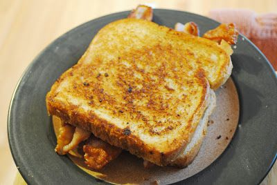 Bacon Grilled Cheese.  Why have I never thought of this before?