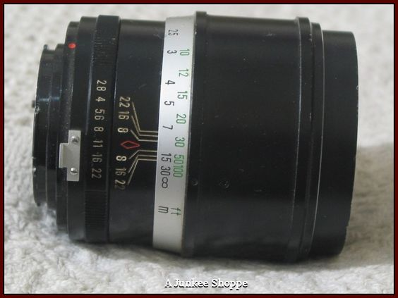 FOCAL F135mm K Type Connection 1:2.8 Camera Lens Used Picture Photography  IMG 640 http://ajunkeeshoppe.blogspot.com/