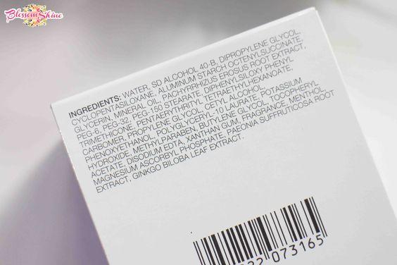 Pixy White-Aqua Night Cream Ingredients