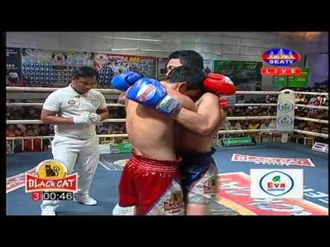Kun Khmer, Saroeun Chan (Khmer) Vs Yord Peth (Thai), SEATV Boxing 24 Apr...
