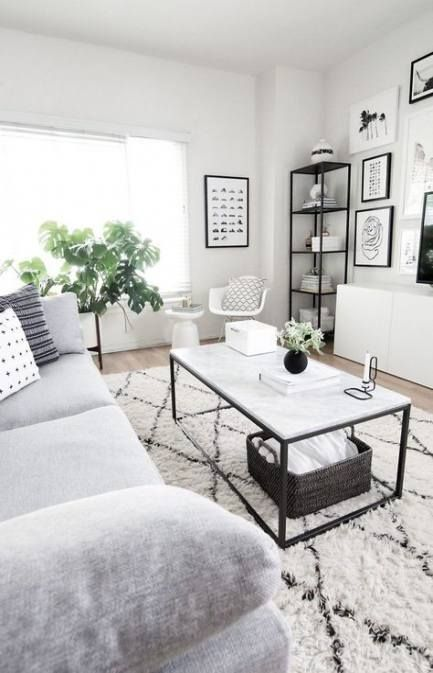 New Apartment Therapy Livingroom Frames Ideas Apartment Living Room White Living Room Modern