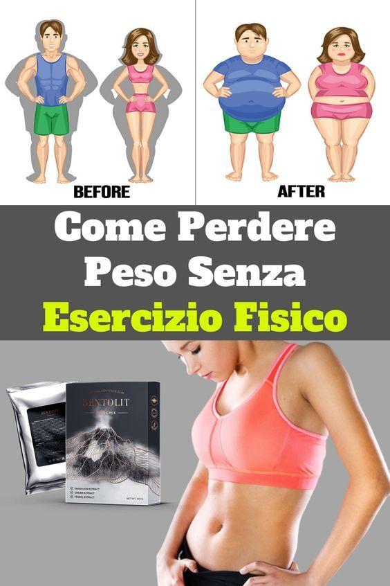 dimagrire senza esercizio fisico