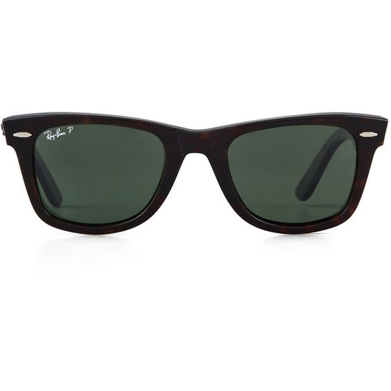 ecc632d7e13 Ray-Ban Original Wayfarer Sunglasses (615 BRL)   liked on Polyvore  featuring accessories