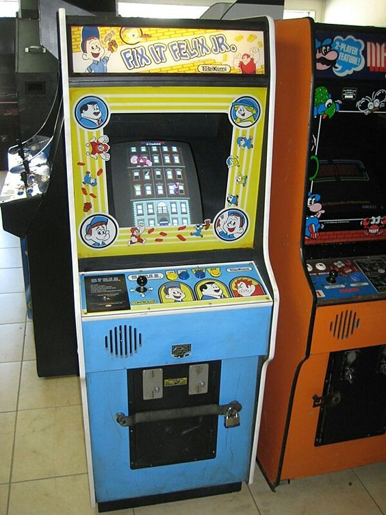 Fix It Felix Jr Arcade Machine Fix it felix jr and Nu...