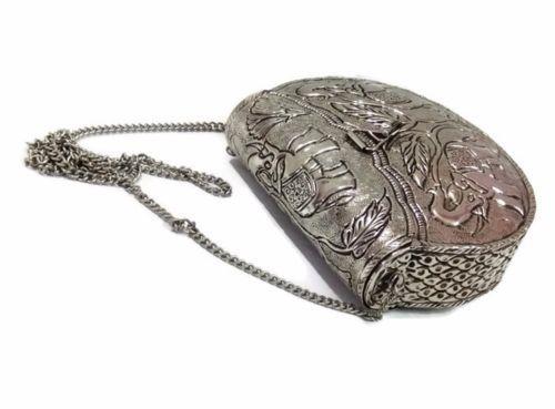 best place for enjoy big discount 2019 hot sale Tassels Indian Metal Clutch Handmade Bag Purse Ethnic Boho ...